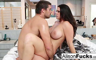 Astonishing rough fuck with Alison Tyler and a hung spanish smile radiantly