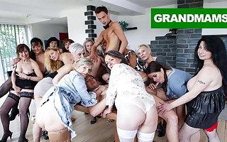 Duct Granny Fuck Fest part 2