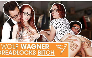 JezziCat picked in the matter of and fucked by stranger! WolfWagner.com