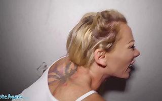 Public Agent, Blonde Ozzie Isabelle Deltore fucks