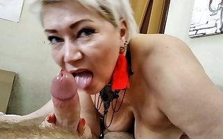 Blowjob masterclass exotic milf-mature beauty Aimee Paradise.