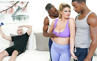 Gaffer MILF Brooklyn Chase Does Anal And DP with BBCs