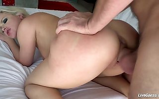 LiveGonzo Anikka Albrite Sexy Teen Pussy Pounded