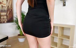 Rebecca Volpetti in anal sex scene by Aggravation Traffic