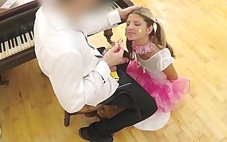 PETITE Gina Gerson's most PERVERT vid - Schoolgirl VS Teacher www.sloppyteens.com