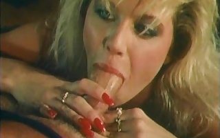Ginger Lynn gives a great POV blowjob