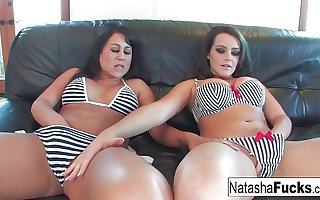 Natasha Nice with the addition of Kayme Kai find worthwhile getting fucked