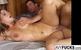 Busty Avy Scott gets her pussy fucked hard