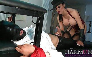 Jasmine Jae masturbates