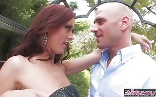 Twistys - (Karlie Montana, Johnny Sins) starring at Naughty Latitudinarian In The Garden